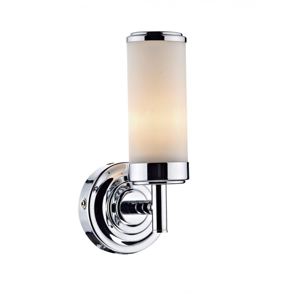 IP44 Double Insulated Bathroom Wall Light Art Deco Style