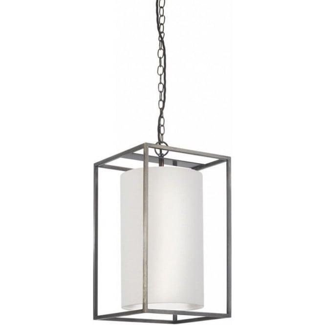 Derwent Hanging Ceiling Pendant Light, Rectangular Frame