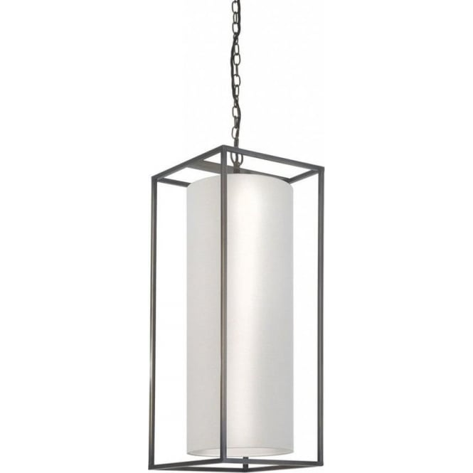 Tall Rectangular Hanging Ceiling Pendant Light For High