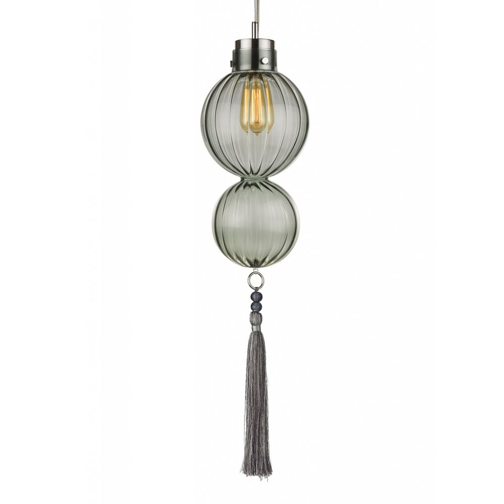 Medina Hand Crafted Jade Glass Hanging Pendant Ceiling