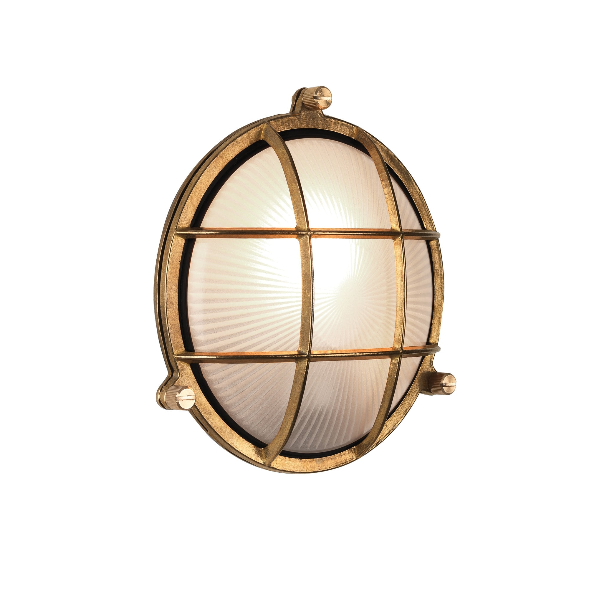 Circular Nautical Design Outdoor Wall Light Desgined For Harsh Weather