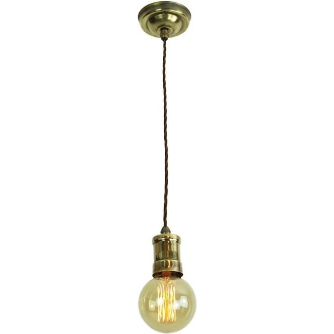 Single Hanging Ceiling Pendant Light Industrial Style