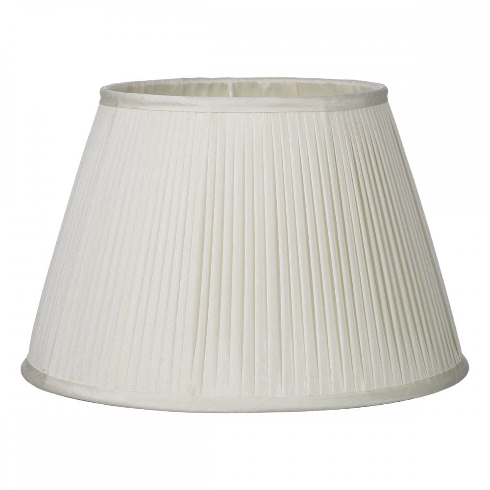 Ivory Silk Pleated Lampshade Will Suit, Pleated Lamp Shades For Table Lamps Uk