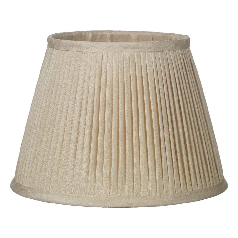 Uk Made Silk Pleated Lamp Shades, Pleated Lamp Shades For Table Lamps Uk