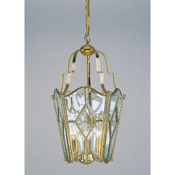 Wellington Collection ALICANTE decorative gold polished brass hall lantern