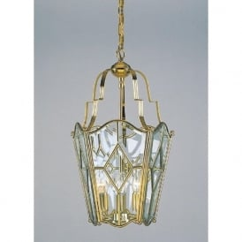 ALICANTE decorative gold polished brass hall lantern