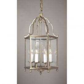 BELGRAVIA large Georgian style lantern in antique brass