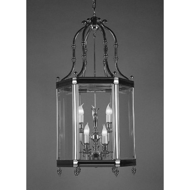 Wellington Collection REGAL large traditional hanging ceiling lantern