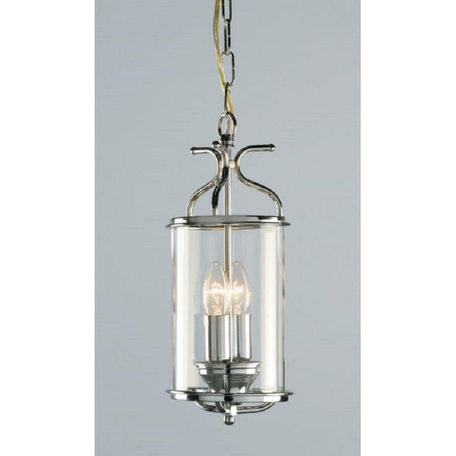 Wellington Collection WINCHESTER cylindrical chrome hall lantern