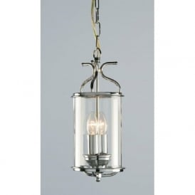 WINCHESTER cylindrical chrome hall lantern