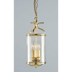 WINCHESTER gold polished brass hall lantern